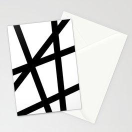 Lazer Dance Black on White Stationery Cards