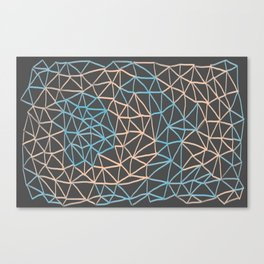 Non-linear Points Canvas Print
