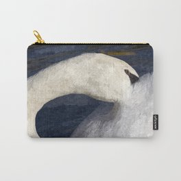 The Shy Swan Art Carry-All Pouch