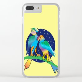 Talking To The Stars Clear iPhone Case