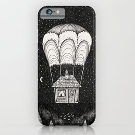 midnight journey iPhone Case