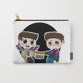Ace!Cas and Bi!Dean Carry-All Pouch