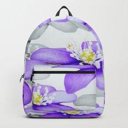 Spring Forest Blue Flowers #decor #society6 #buyart Backpack
