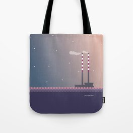 Poolbeg Dublin Tote Bag