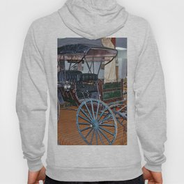 Antique Carriage in museum Hoody