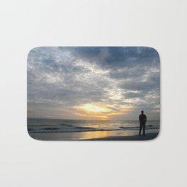 Walk into the sunset.. Bath Mat