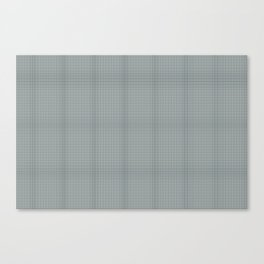 Plaid Dark Green Inspired by PPG Glidden Trending Colors of 2019 Night Watch PPG1145-7 Canvas Print
