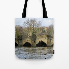Bakewell bridge 2 Tote Bag