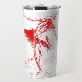 Russian Ballerina (in laser lighting) Travel Mug