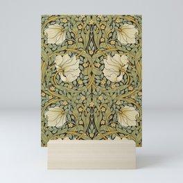 William Morris Pimpernel Art Nouveau Floral Pattern Mini Art Print