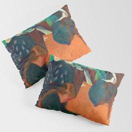 Edvard Munch - Death in the Sickroom - Digital Remastered Edition Pillow Sham