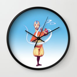 The last air bender Wall Clock