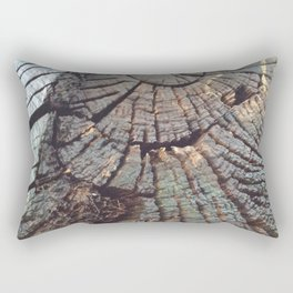 Age of a tree Rectangular Pillow