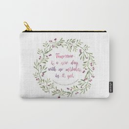 ANne of Green Gables New Day Carry-All Pouch