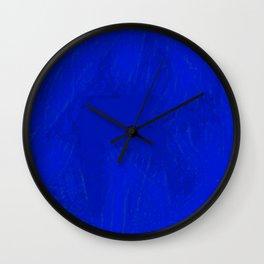 Blue Damsel Wall Clock