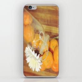 Clementines From Above iPhone Skin