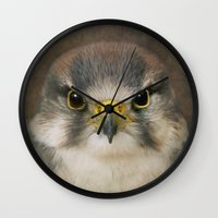 millenium falcon Wall Clocks featuring Falcon by Pauline Fowler ( Polly470 )
