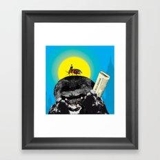 Bug killer Framed Art Print