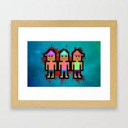 Da Brazilian Gang Framed Art Print