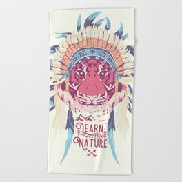 Learn from Nature Beach Towel