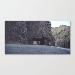 Hole In The Mountainside Canvas Print