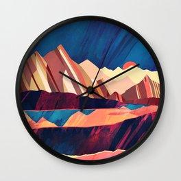 Desert Valley Wall Clock