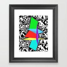 Color Sculpture Framed Art Print