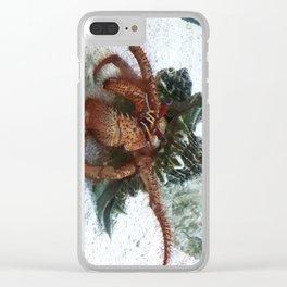 Pagurus Bernhardus 2 Clear iPhone Case