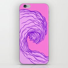 The Wave #2 iPhone & iPod Skin