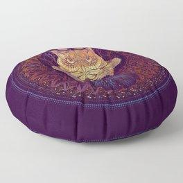 Owl Mandala Floor Pillow