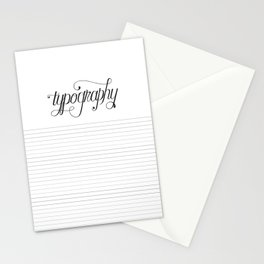 Blank Page Stationery Cards