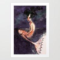Mermaid Art Print