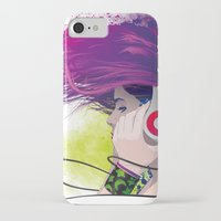snatch iPhone & iPod Cases featuring Listen. by Lorenzo Imperato