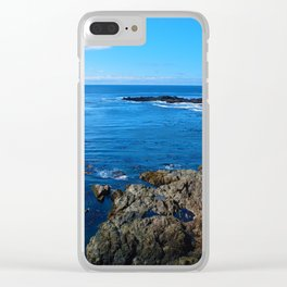 Wild Pacific Trail, Ucluelet BC Clear iPhone Case