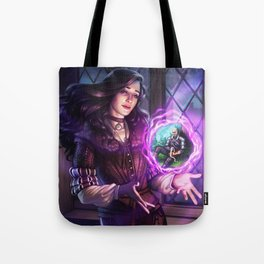 Thinking of Geralt Tote Bag