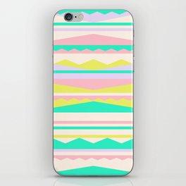 Color Blocks (Cute Nursery Pattern) (13-Nov-17) #ColorBlocks #Zala02Creations #Society6 iPhone Skin