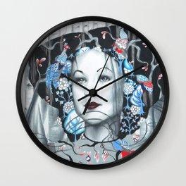 The Peacock Wall Clock
