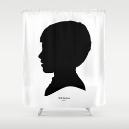Will Carlson Silhouette Shower Curtain