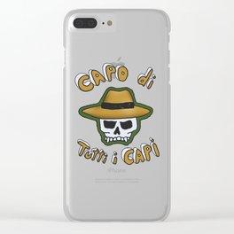 Capo di tutti i Capi Clear iPhone Case
