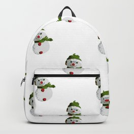 Snowman Pattern (OLD) Backpack