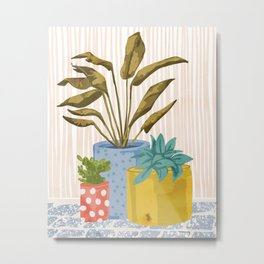 Little Garden || Metal Print