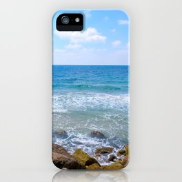 Mediterranean Sea during Daylight iPhone Case