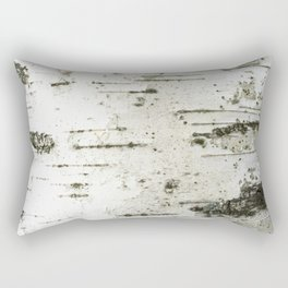 Birch bark pattern Rectangular Pillow