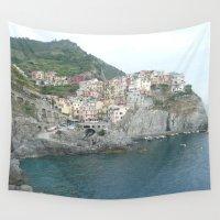 italian Wall Tapestries featuring Italian Dream by Krista Dawn
