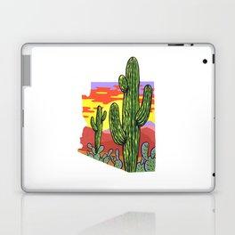 Arizona Saguaro Sunset Laptop & iPad Skin