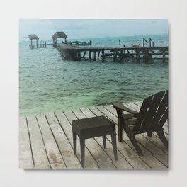 A beautiful place to sit... Metal Print