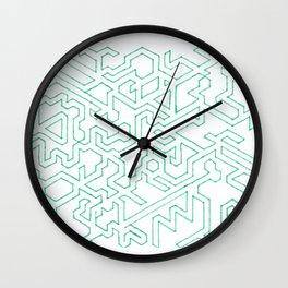 Ah-maze-ing Wall Clock