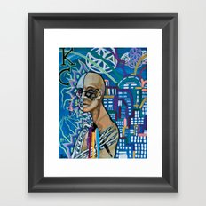 KC Framed Art Print