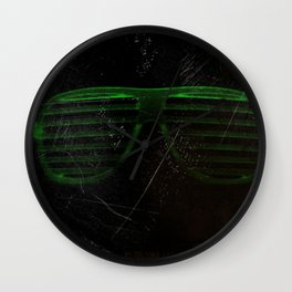 Electro Glasses Wall Clock