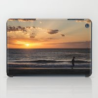 runner iPad Cases featuring The Runner by Federico Bustamante